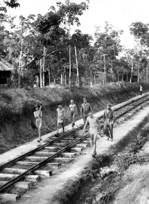 POWs Sumatra Railway