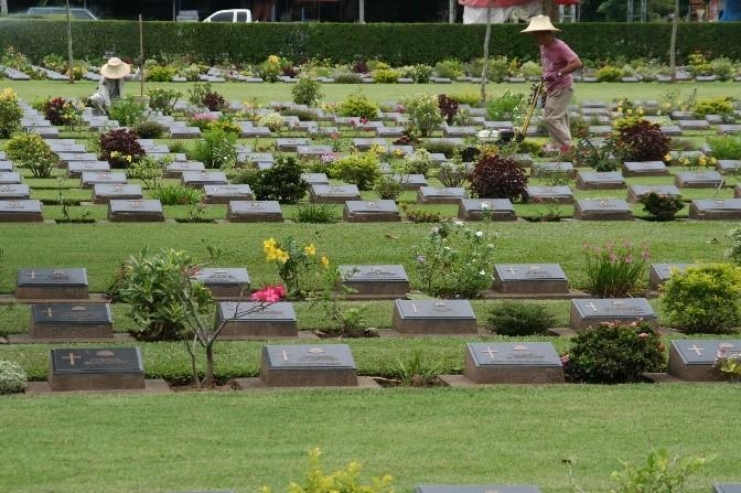 POW War Graves in Thailand