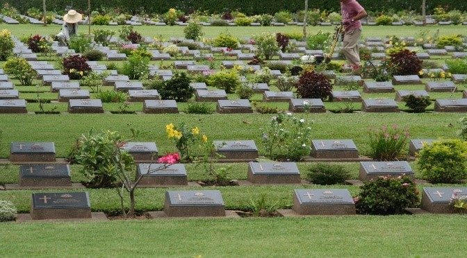 POW War Graves in Thailand
