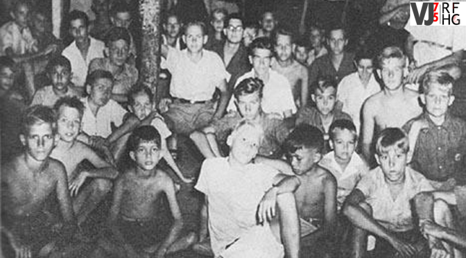Liberation of camps in Dutch East Indies – Bert's story