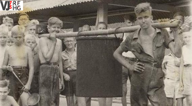 Liberation of camps in Dutch East Indies – Jan's Story